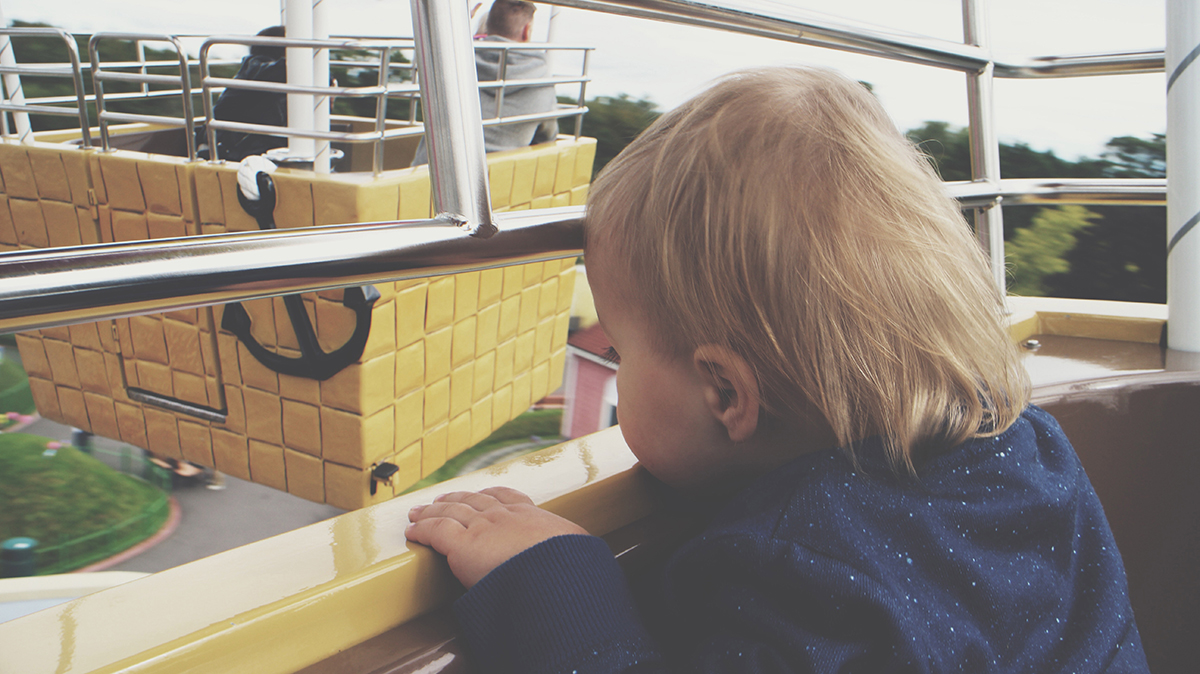The Ultimate Toddlers Day Out at Peppa Pig World - Hot Air Balloon ride
